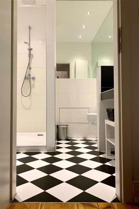 Badezimmer Ideen Schwarz Weiß