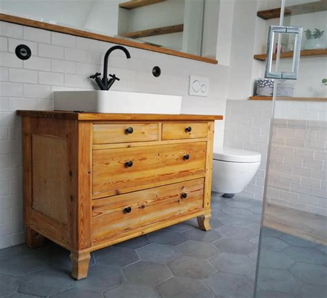 Badezimmer Kommode Mit Waschbecken