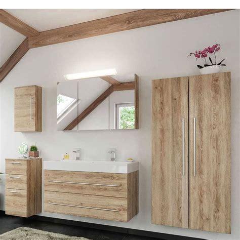 Badezimmer Set Holzoptik