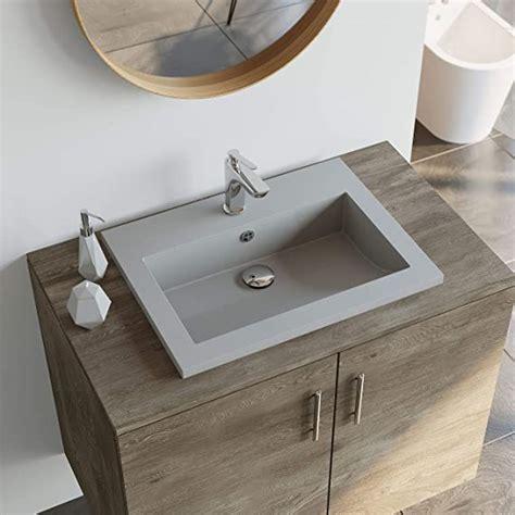 Badezimmer Waschbecken Grau