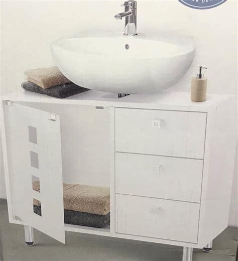 Badezimmerschrank Waschbecken