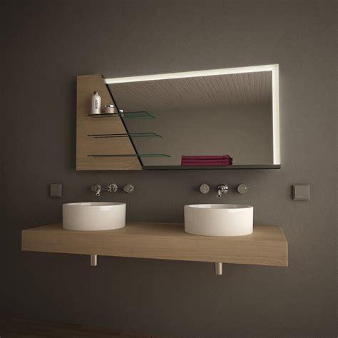 Badspiegel Ablage