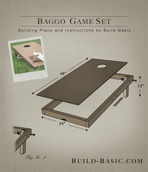 Baggo Board Plans