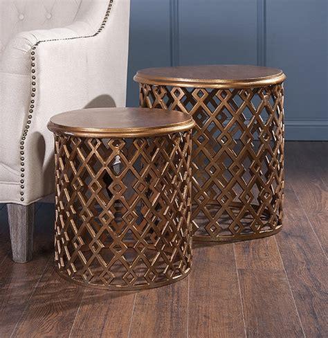 Bains 2 Piece Nesting Tables