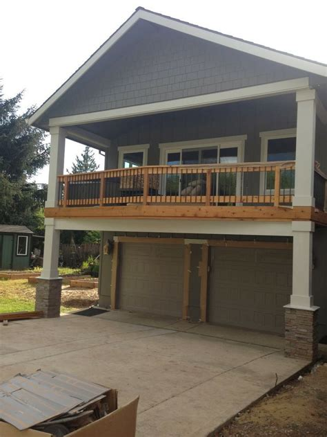 Balcony Over Garage Design
