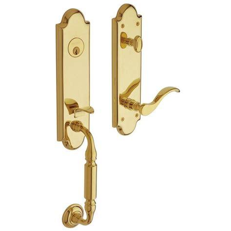 Brass Baldwin Brass Entry Door Sets.
