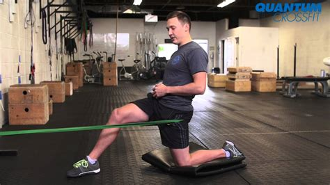 banded hip flexors stretch exercises for hip