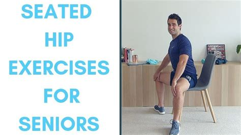 banded hip flexors stretch exercises youtube for seniors