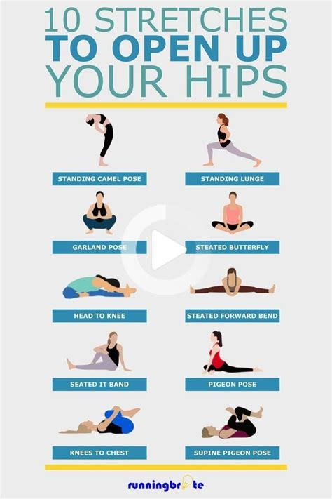 banded hip flexors stretch images funny happy