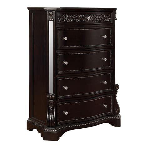 Bankston Contemporary 4-Drawer Storage Accent Chest