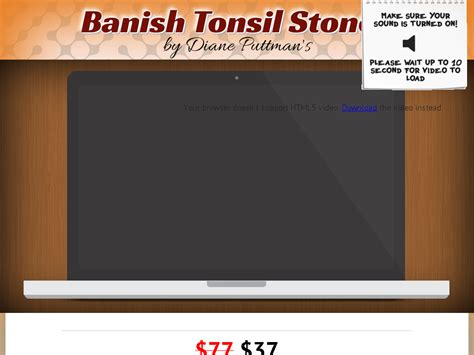 Banstones - Tonsil Stones! *up To $22/sale* New Vsl! Cbgraph.