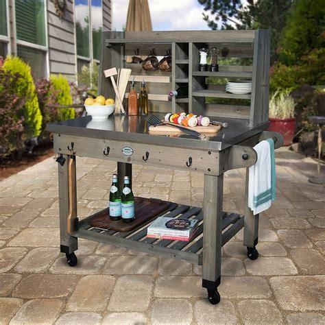 Barbecue Prep Station