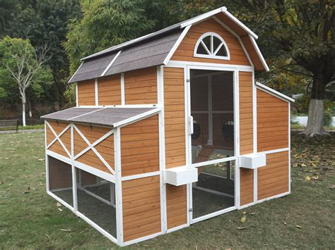 barn chicken coop with run