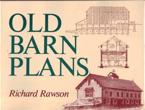 Barn Plans Book