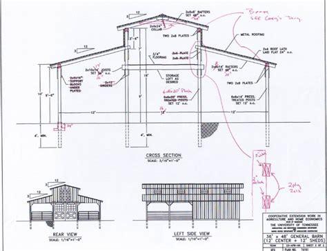 Barn Plans Monitor