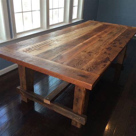 Barn Wood Dining Tables Diy