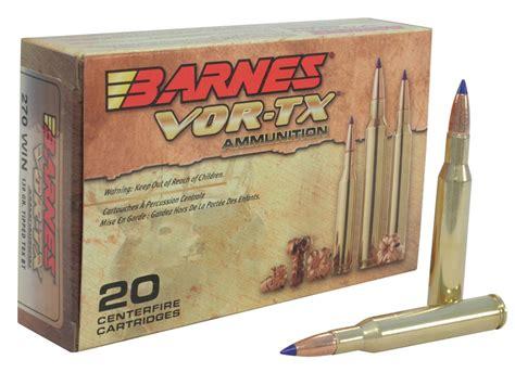 Ammunition Barnes Vor-Tx Ammunition 270.