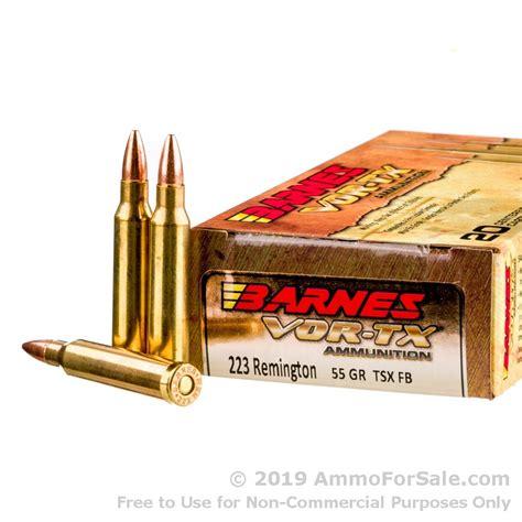 Ammunition Barnes X Ammunition For Sale