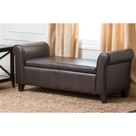 Barney Fabric Storage Bench