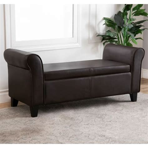 Barney Upholstered Storage Bench