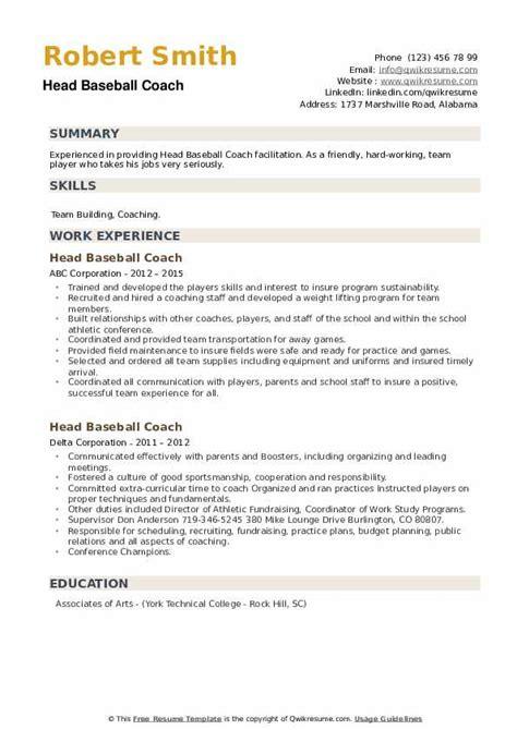 Resume Sample Resume Professional Baseball sample resume professional baseball good objectives for head coach my career