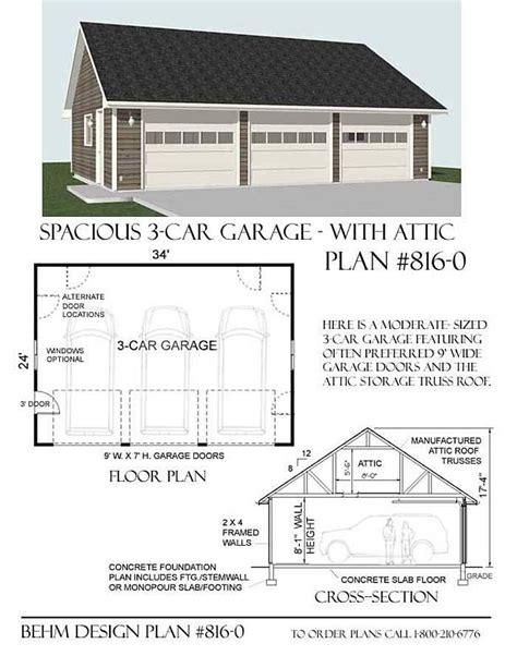 Basic Garage Plans