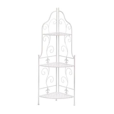 Basket Weave Corner Unit Bookcase