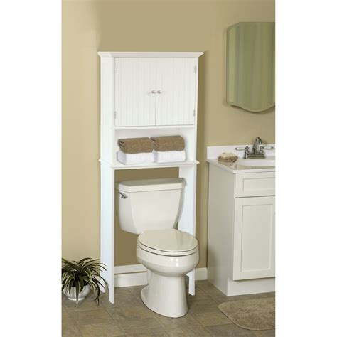 Bathroom Space Saver 24.5 W x 62.5 H Over the Toilet Storage