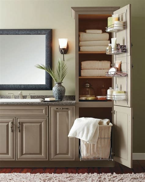 Bathroom Linen Cabinets Plans