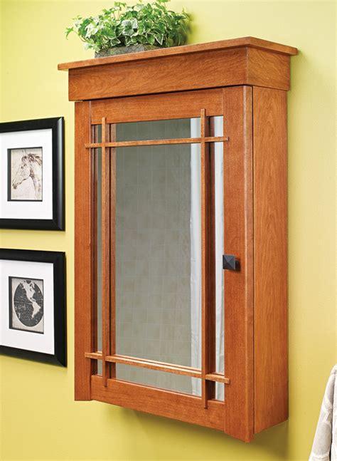 Bathroom Medicine Cabinet Woodworking Plans