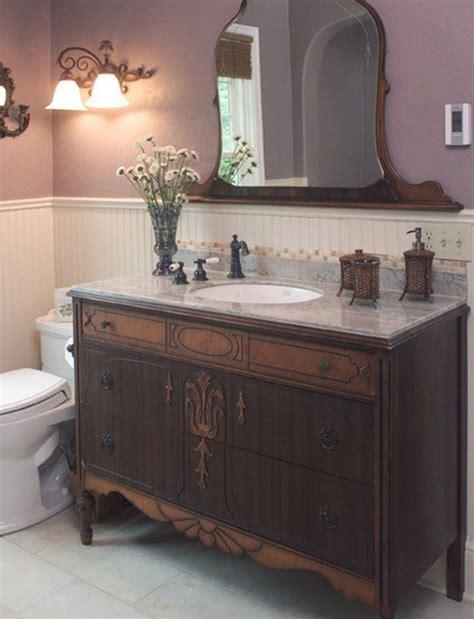 Bathroom Vanity Dresser Diy