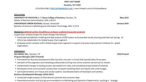 bauer college of business resume template writers resume template the organized writer annie - Bauer College Of Business Resume Template