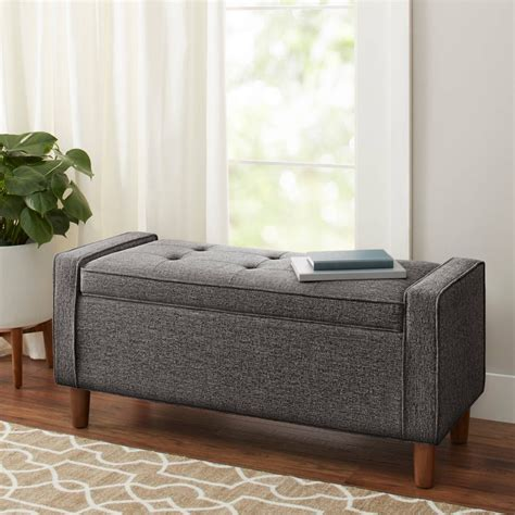 Bauer Upholstered Storage Bench