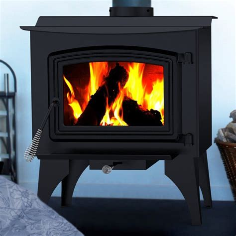 Bay Front Direct Vent Wood Burning Stove