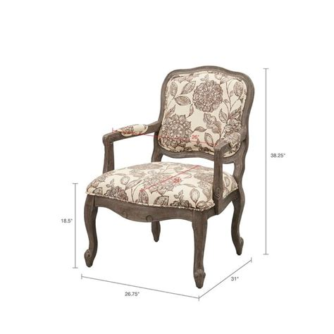 Bayard Back Exposed Wood Armchair