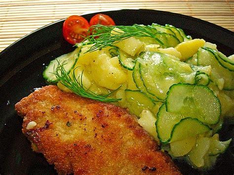 Bayrischer Kartoffelsalat Mit Salatgurke