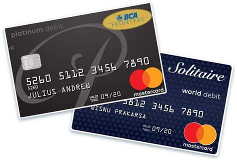 Bca Credit Card Information Bca Important Information For Credit Card Bca Holders