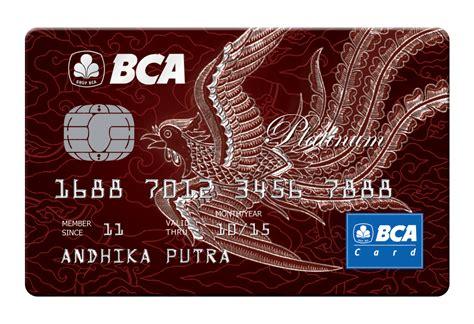 Bca Credit Card Information Bca Kartu Kredit Bca