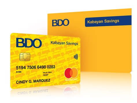 Credit Card Cash Withdrawal Charges Adcb Bdo Kabayan Atm Debit Card Can It Be Used Abroad