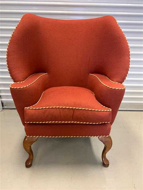 Bear Wingback Chair