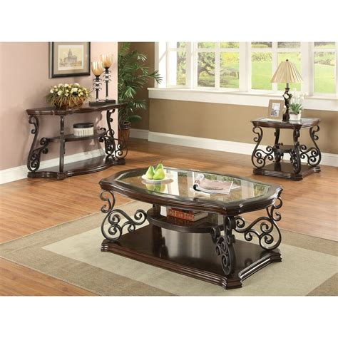 Bearup 3 Piece Coffee Table Set