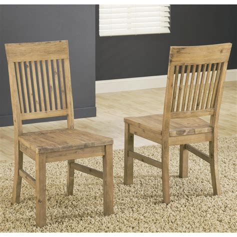 Beaudoin Solid Wood Dining Chair (Set of 2)
