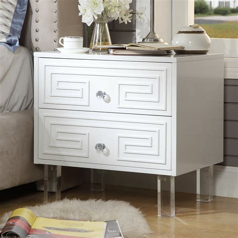 Beck 2 Drawer Nightstand