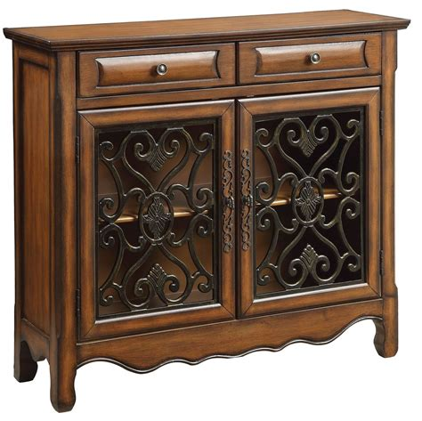 Becky Two Tone 2 Door Accent Chest