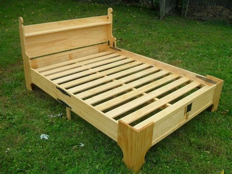 bed in a box woodworking plans