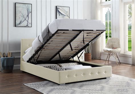 Bed With Lift Up Storage