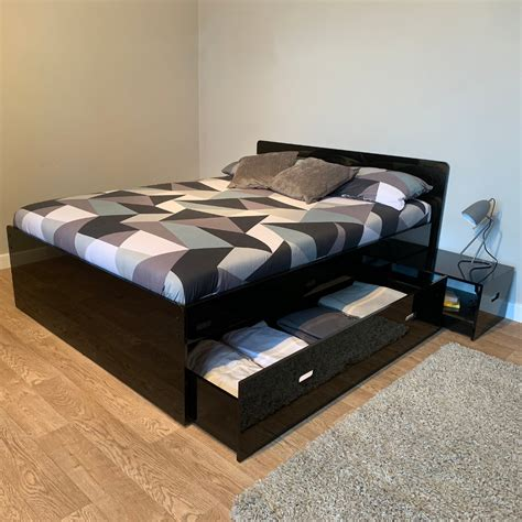 Bed With Storage Cheap