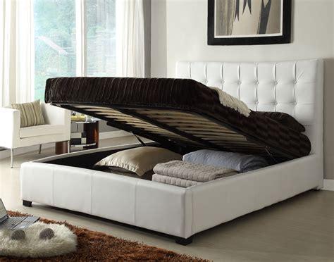 Bed With Storage Under Mattress