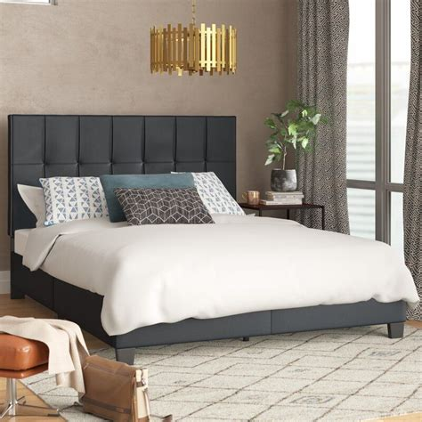 Bedford Queen Upholstered Platform Bed byIvy Bronx