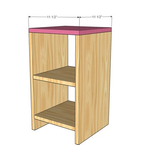 bedroom vanity woodworking plans